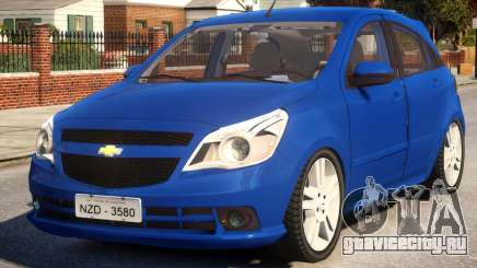 Chevrolet Agile LTZ для GTA 4