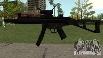 MP5-A1 для GTA San Andreas