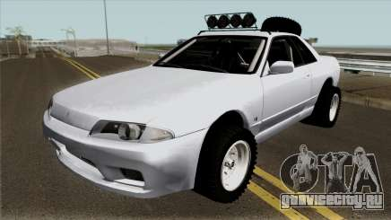 Nissan Skyline R32 Rusty Rebel Offroad для GTA San Andreas