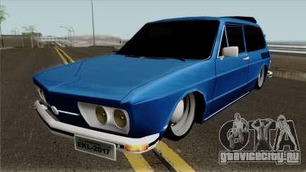 Volkswagen Brasilia Brasilhao для GTA San Andreas
