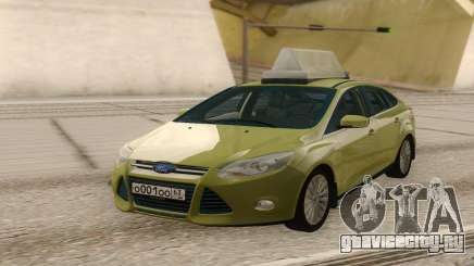 Ford Focus Taxi Special для GTA San Andreas