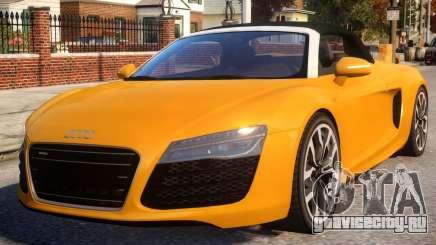 Audi R8 Spyder EPM v.1.2 для GTA 4