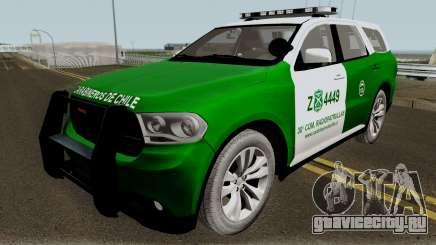 Dodge Durango Carabineros de Chile для GTA San Andreas