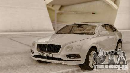 Bentley Bentayga White для GTA San Andreas