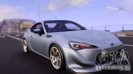 Subaru BRZ Stock RHD для GTA San Andreas