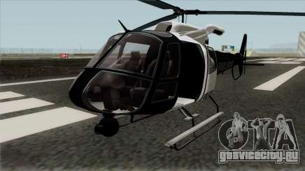 Buckingham Police Maverick GTA V для GTA San Andreas