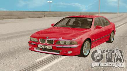 BMW М5 Е39 Red для GTA San Andreas