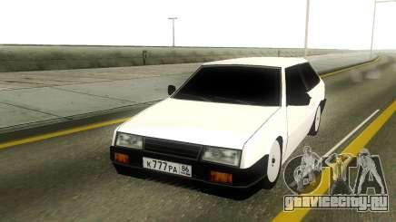 VAZ 2108 Rus Plate для GTA San Andreas