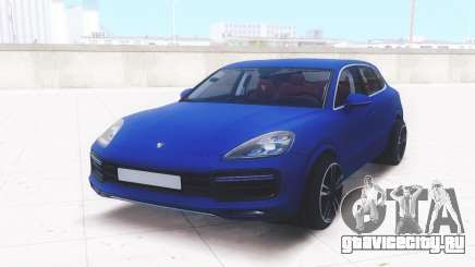 Porsche Cayenne Turbo 2018 для GTA San Andreas