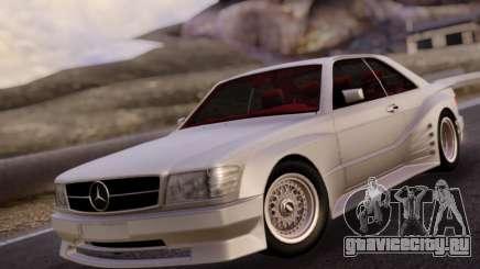 Mercedes-Benz C126 560SEC для GTA San Andreas