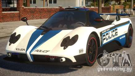 Pagani Zonda Cinque COP для GTA 4