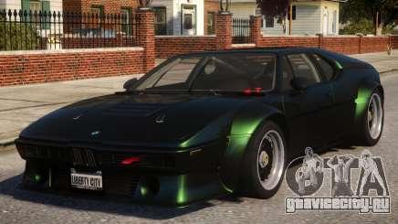 BMW M1 для GTA 4