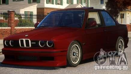 BMW M3 E30 Red для GTA 4