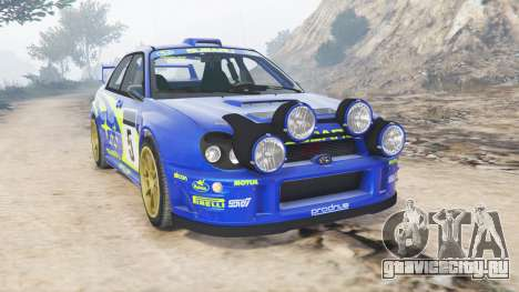 Subaru Impreza S8 WRC (GD) 2001 [add-on] для GTA 5