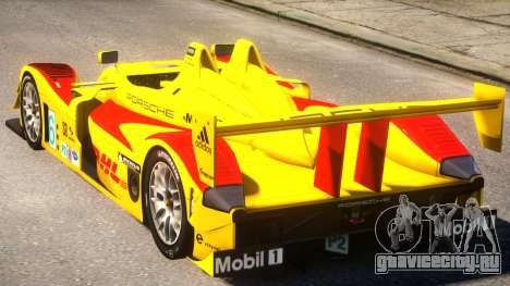 Porsche RS Spyder PJ2 для GTA 4 вид сзади слева