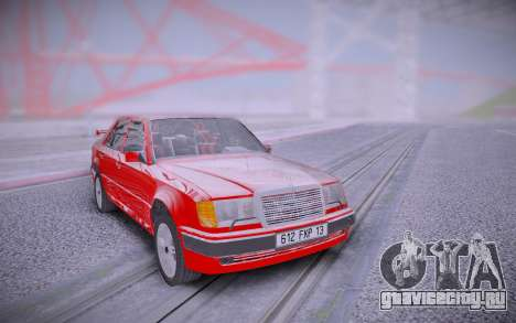 Mercedes-Benz W124 500E from Taxi 1 для GTA San Andreas
