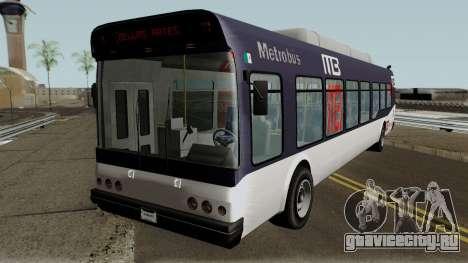 Brute Metrobus (GTA V Style) для GTA San Andreas