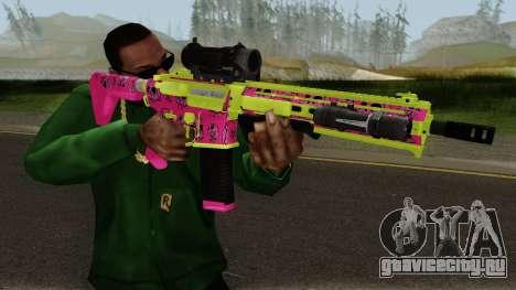 GTA Online Gunrunning Carbine Rifle MK.II Pink для GTA San Andreas