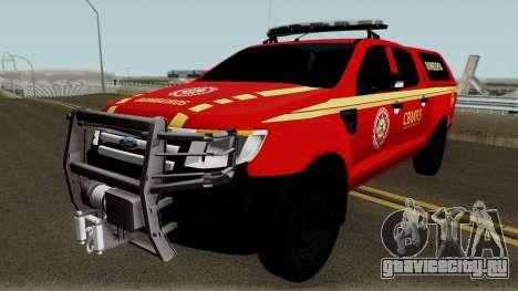 Ford Ranger 2015 CBMRS для GTA San Andreas