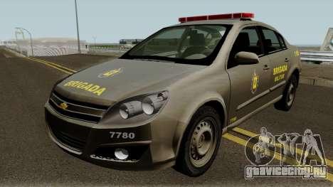 Chevrolet Vectra Elite da Brigada Militar для GTA San Andreas