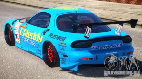 KJC Mazda RX-7 PJ1 для GTA 4