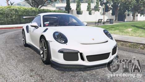Porsche 911 GT3 RS (991) 2016 v2.0 [replace] для GTA 5