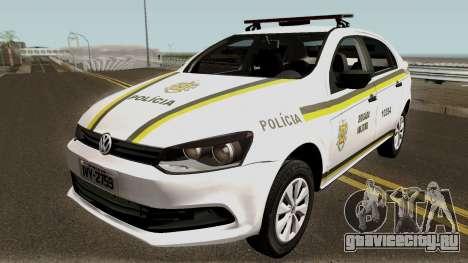 Volkswagen Voyage Brazilian Police для GTA San Andreas