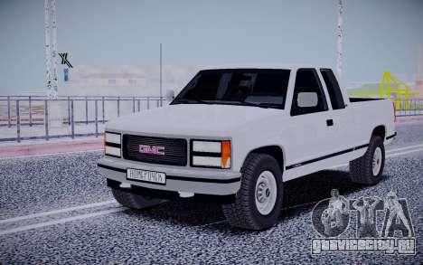 GMS Sierra для GTA San Andreas