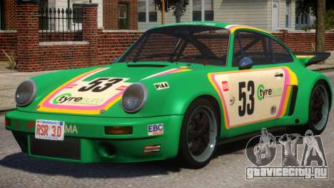 1974 Porsche 911 PJ5 для GTA 4