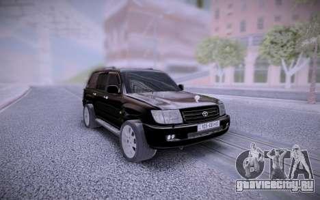 Toyota Land Cruiser 105 Offroad для GTA San Andreas