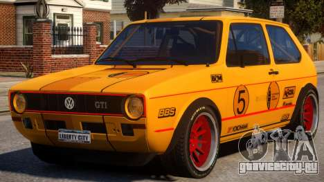 VW Golf GTI MK1 Rally PJ для GTA 4