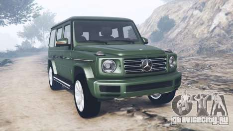 Mercedes-Benz G 500 (W463) 2018 [add-on] для GTA 5