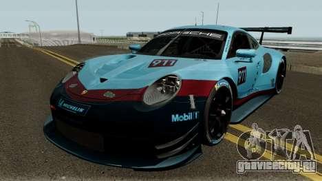 Porsche 911 RSR 2018 для GTA San Andreas
