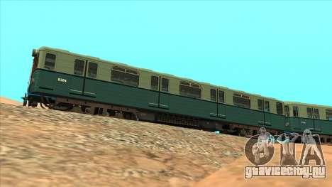 Вагоны типа Еж Киевской Модернизации для GTA San Andreas