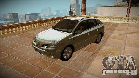 Renault Koleos для GTA San Andreas