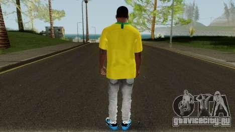 Franklin Brazil World Cup для GTA San Andreas