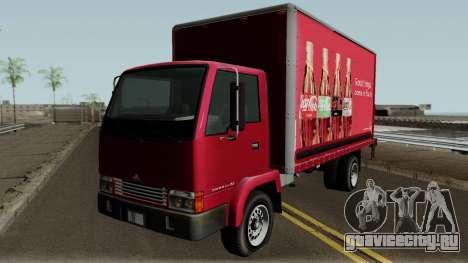 Maibatsu Mule GTA IV with New Logos для GTA San Andreas