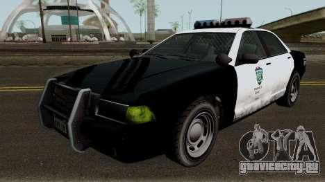 Police Stanier R.P.D. GTA V IVF для GTA San Andreas