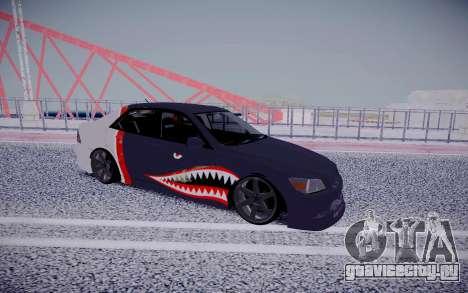 Toyota Altezza Shark для GTA San Andreas