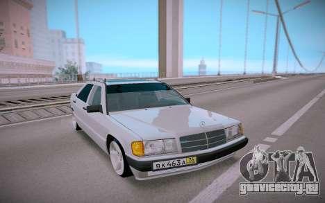 Mercedes-Benz 190E Classic для GTA San Andreas