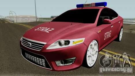 Ford Mondeo Polskiej Strazy Pozarnej для GTA San Andreas
