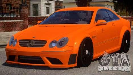 Mercedes Benz CLK63 V1.0 для GTA 4