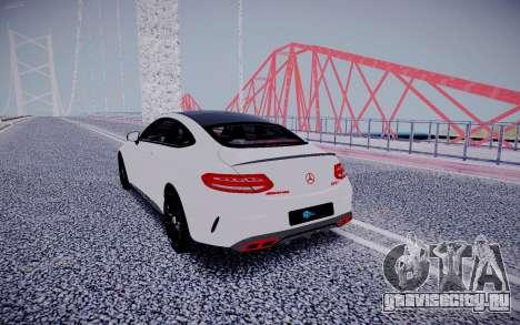 Mercedes-Benz C63 для GTA San Andreas