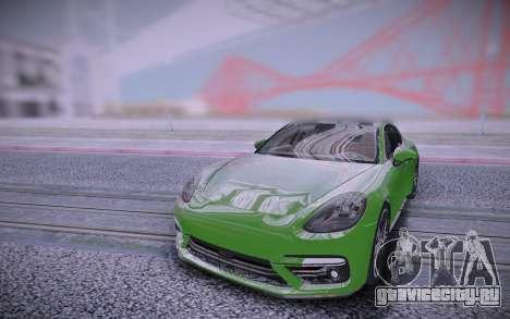 Porsche Panamera для GTA San Andreas