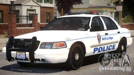 Ford CV Police для GTA 4