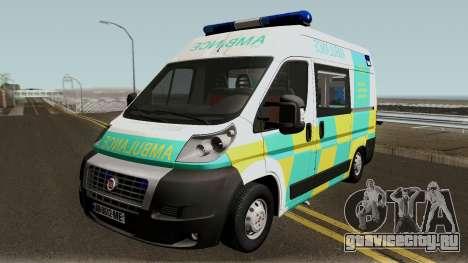 Fiat Ducato Geo Ambulance для GTA San Andreas