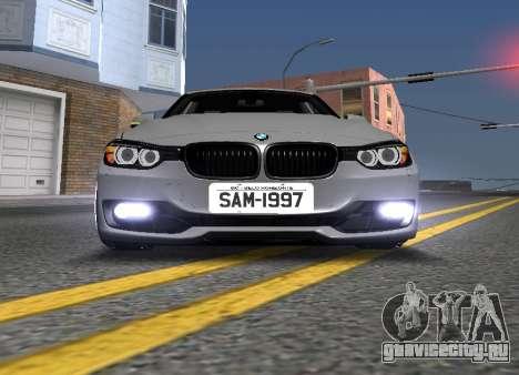 BWM F30 335i Stance для GTA San Andreas