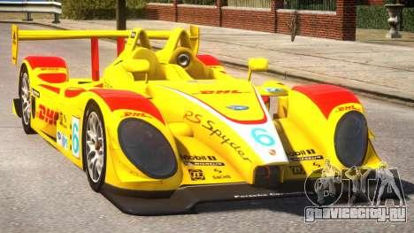 Porsche RS Spyder PJ2 для GTA 4 вид изнутри