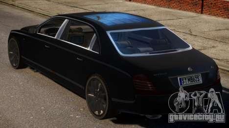 2009 Maybach 62 S для GTA 4