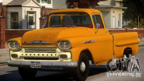 1958 Chevrolet Apache Used для GTA 4